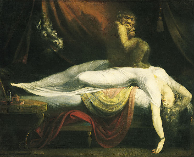"""The Nightmare"" by John Henry Fuseli"